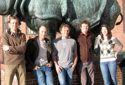 (l to r) Johann Bollmann, Adam Kampff, Florian Engert, Michael Orger, and Kristen Severi