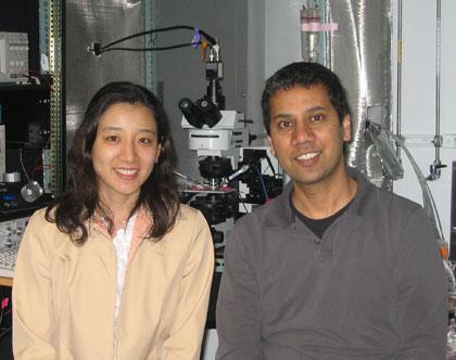 Akari Hagiwara (l) & Venkatesh N Murthy
