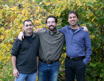 (l to r) Dan Rokni, David Gire, and Venki Murthy