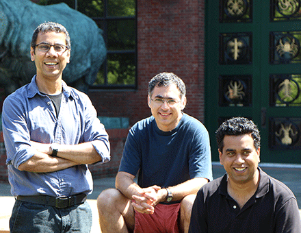 (l to r) Venki Murthy, Dan Rokni, Vikrant Kapoor, and Vivian Hemmelder (not shown)