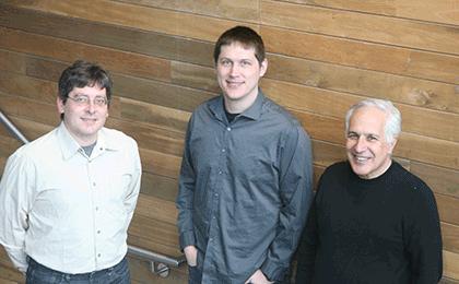 (l to r) Daniel Berger, Josh Morgan, and Jeff Lichtman