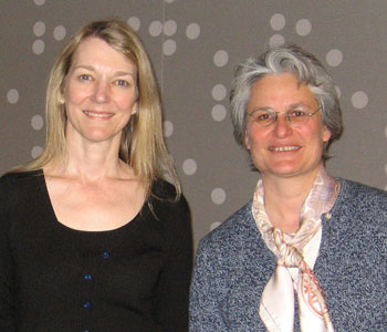 (L to R) Cori Bargmann and Catherine Dulac