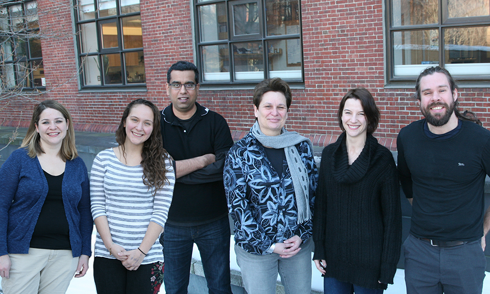 (l to r) Anita Autry, Brenda Marin-Rodriguez, Vikrant Kapoor, Catherine Dulac, Benedicte Babayan, and Johannes Kohl