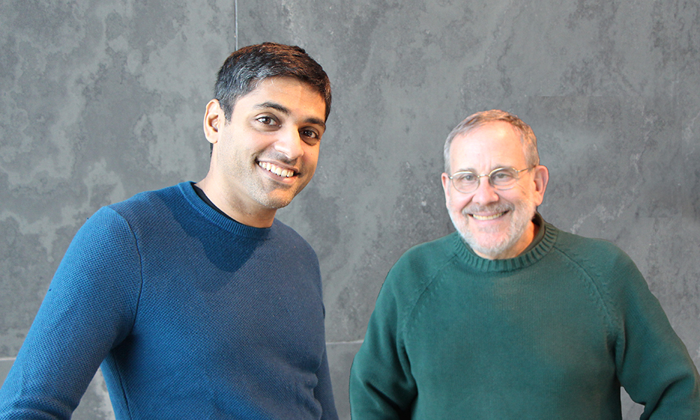 Sumeet Sarin (l) and Josh Sanes
