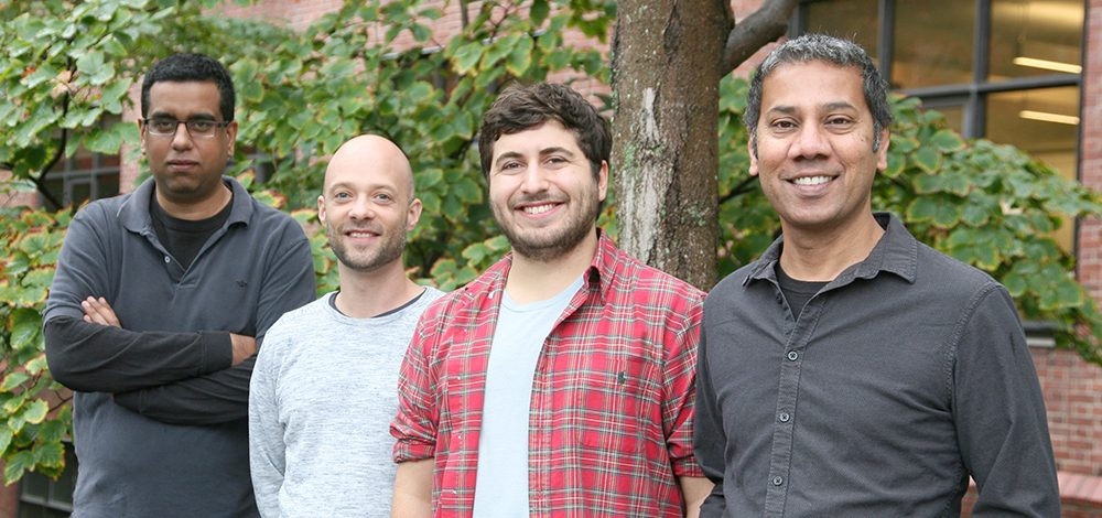 (l to r) Vikrant Kapoor, Ryan Draft, Matthew McGill, and Venki Murthy