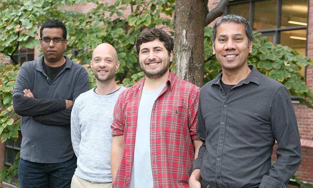 (l to r) Vikrant Kapoor, Ryan Draft, Matthew McGill, and Venki Murthy