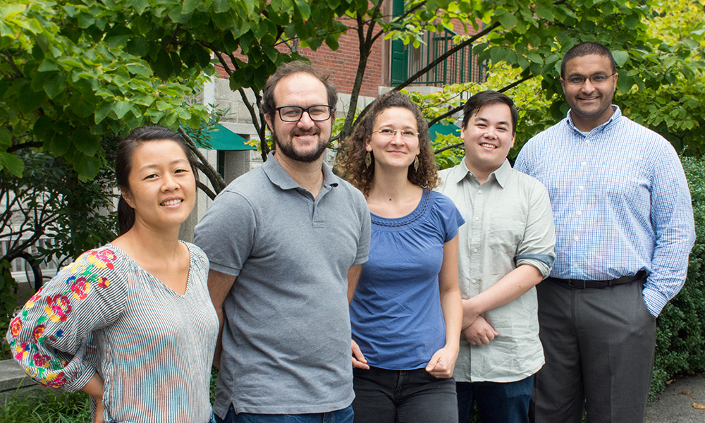 (l to r) Jenny Chen, Jeff Moore, Lena van Giesen, Nicholas Tran, and Athar Malik