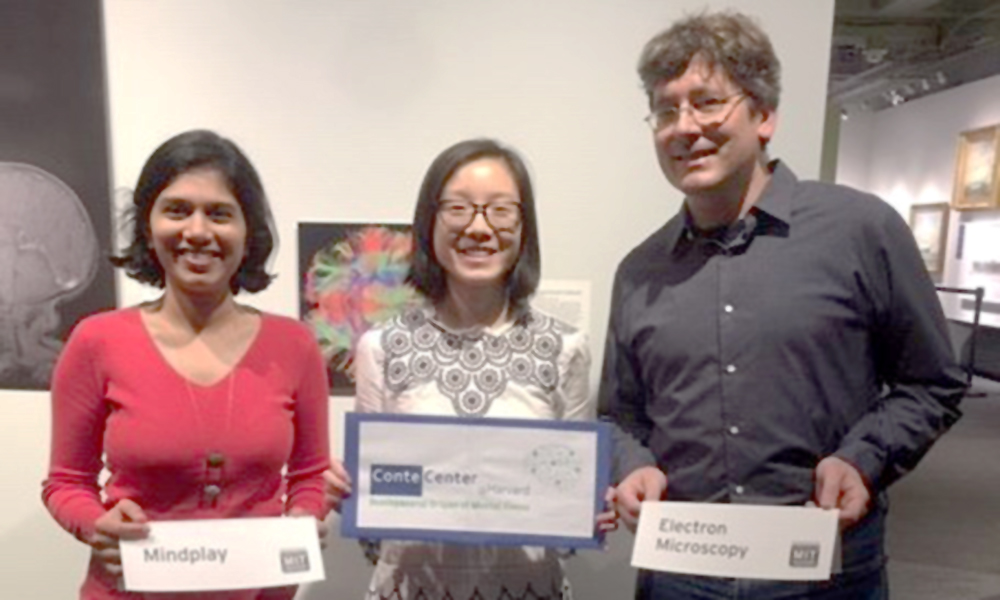 (l to r) Rashmi Sarnaik, Alice Tao, and Daniel Berger