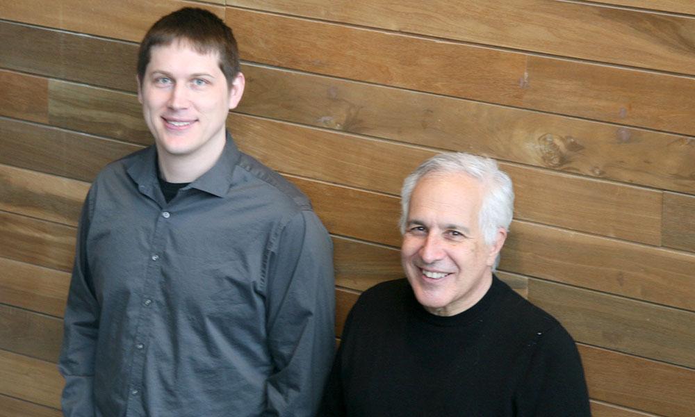 Josh Morgan (l) and Jeff Lichtman