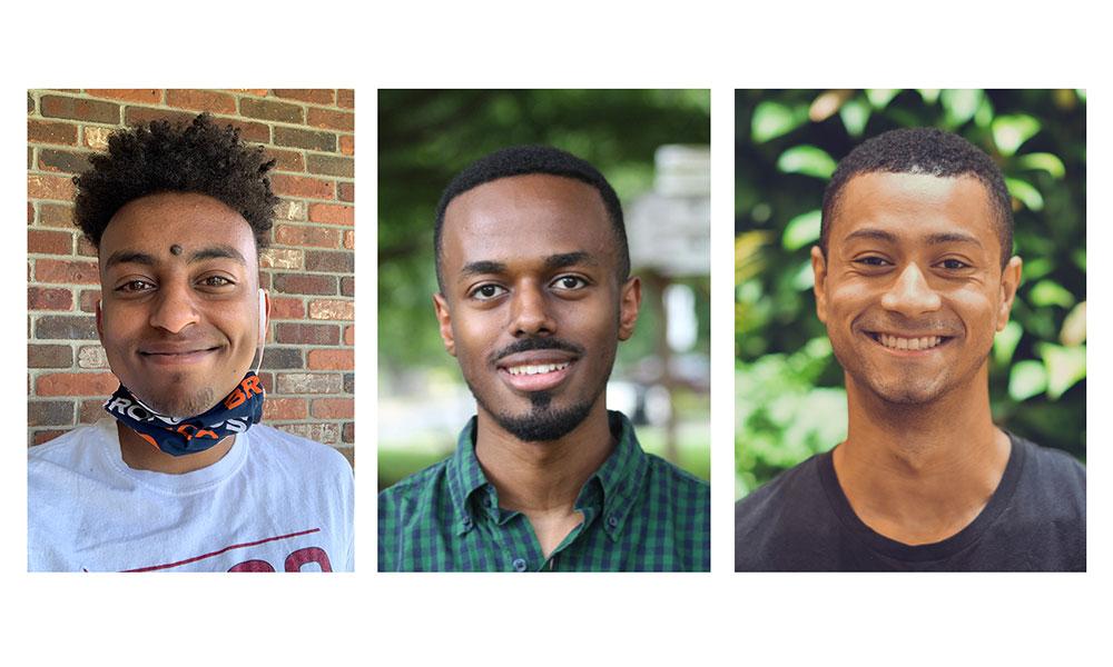 (l to r) Aaron Abai, Yoseph Boku, and Matt Spence